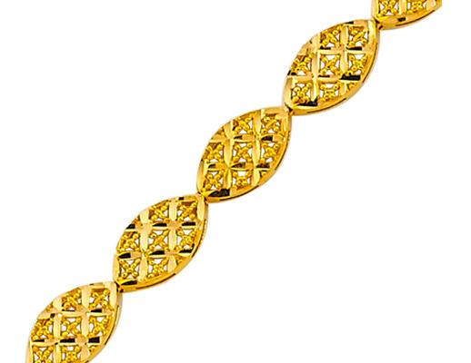 22 Ayar Altın Bileklik